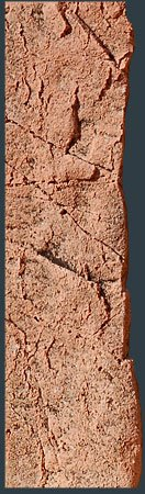 BACK TO NATURE Slimline 50D 10x45 cm Red Gneiss