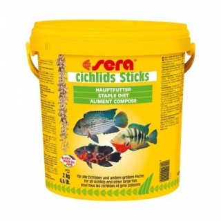 sera cichlids Sticks 10.000 ml