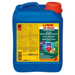 sera pH/kH-minus 2.500 ml