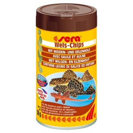 sera Wels-Chips 100 ml