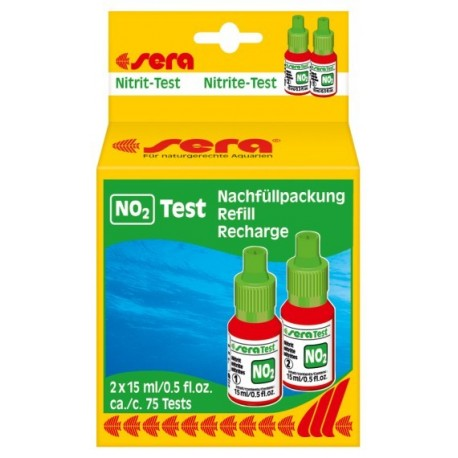 sera Nitrit-Test (NO2) náplň 3x 15 ml
